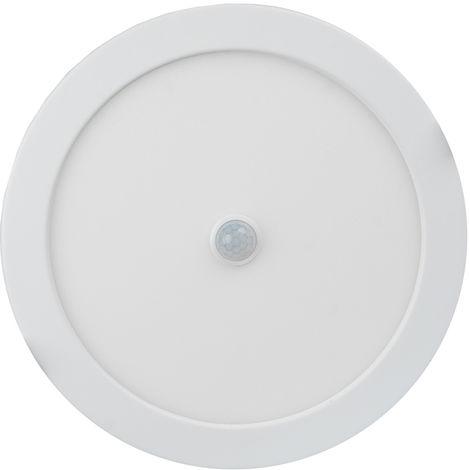 Downlight Led redondo empotrable con sensor regulable en color 18W 1450Lm 3000°K/4000°K/6000°K (Electro DH 81.614/S/18/CCT)