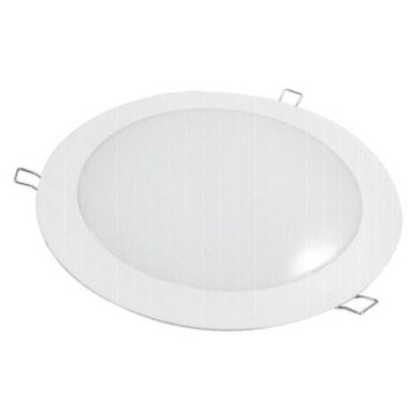 Downlight Led redondo empotrable o superficie blanco 25W 3000°K (F-BRIGHT 2801452)