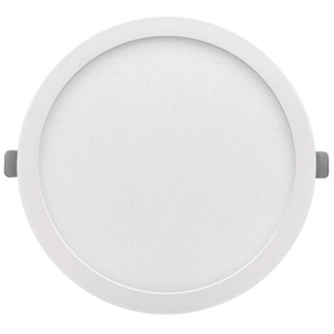 Downlight Led redondo empotrable o superficie Monet blanco 12W 3000°K 160x13mm. (ALG 67668)