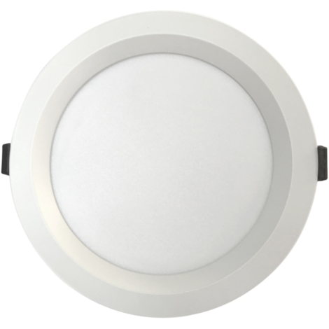 Downlight Led redondo empotrable profesional regulable en color Triton blanco 15W 1650Lm (Ledbay TRT-B-15)