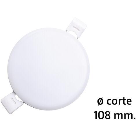 Downlight Led redondo empotrable sin marco modelo Selene para sustitución directa 18W 3000°K øcorte: 108 mm. (ALG 67022)