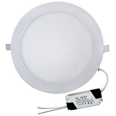 Downlight LED Redondo Extraplano 18W-6000ºK (blanco)