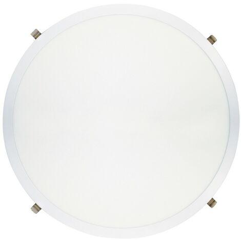 Downlight Led redondo ultraplano blanco 48W - Blanco