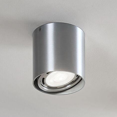 Downlight LED Rosalie, atenuable, 1 luz, aluminio