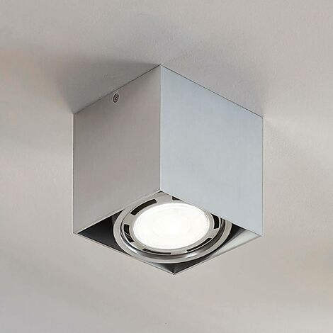Downlight LED Rosalie, atenuable, 1 luz, angular