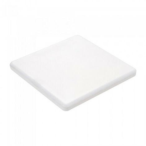 Downlight LED Samsung extraplano cuadrado blanco 12W 120° ajustable