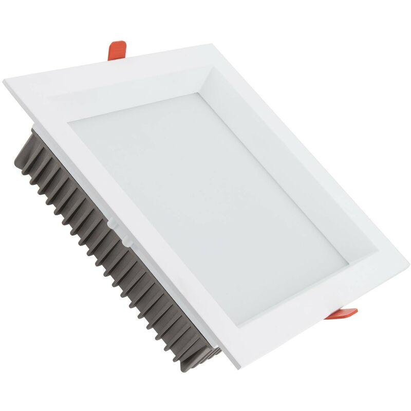 Downlight LED SAMSUNG Quadrato 120lm/W 25W (UGR19) Foro 200x200 mm Bianco Caldo 2700K - 3200K - LEDKIA