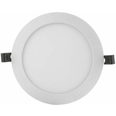 Downlight LED Slim 12W luz neutra 4000K Ø169mm blanco Ledvance