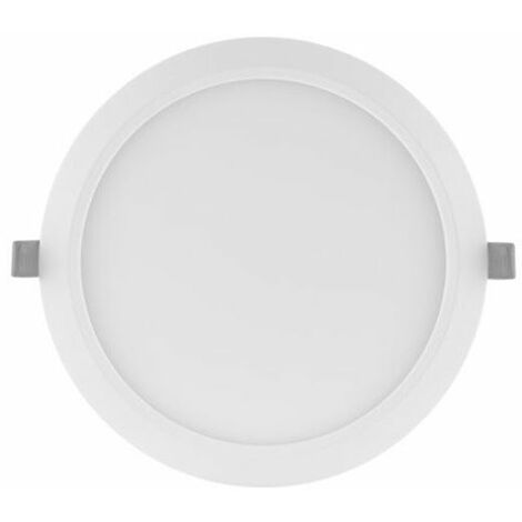 Downlight LED Slim 18W luz neutra 4000K d.225mm blanco DN210 Ledvance