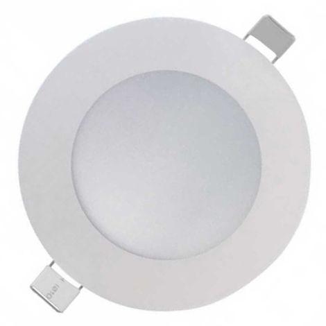 Downlight LED Slim Empotrable Redondo 18W 1450lm Ø20cm Blanco Eilen