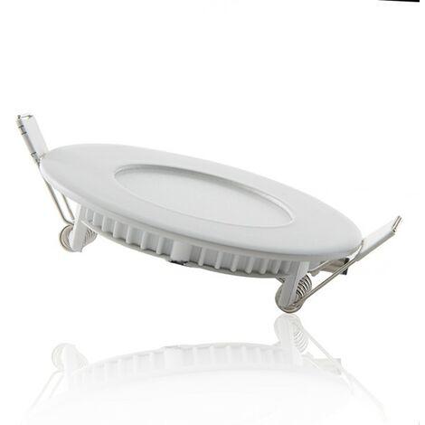 Downlight LED Slimline Circolare Ecoline 90Mm 3W 230Lm 30.000H