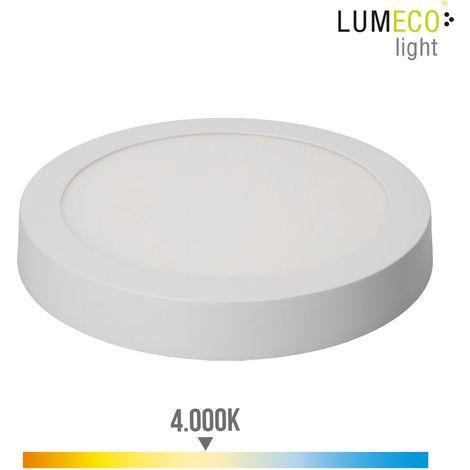 Downlight Led Superficie 20W 1500 Lumens 4.000K Luz Dia Blanco - NEOFERR
