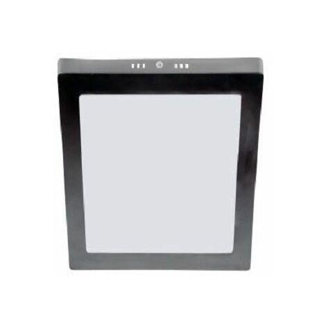 Downlight led superficie cuadrado niquel 24w luz neutra - 0