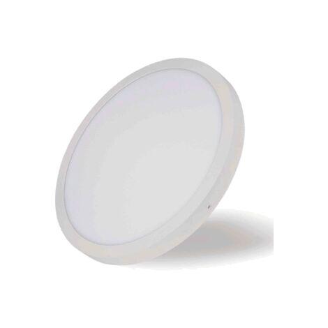 Downlight led superficie redondo 18w 6000k luz blanca