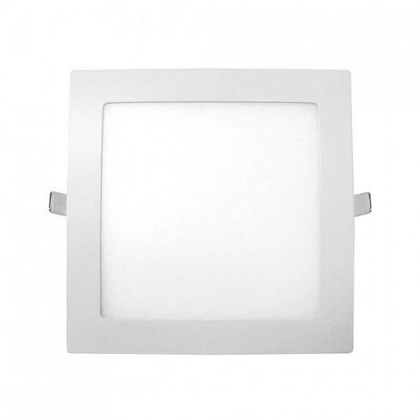 Downlight LED Ultraslim Empotrable Cuadrado 20W 1600lm 20,5x20,5cm 6000K Eilen