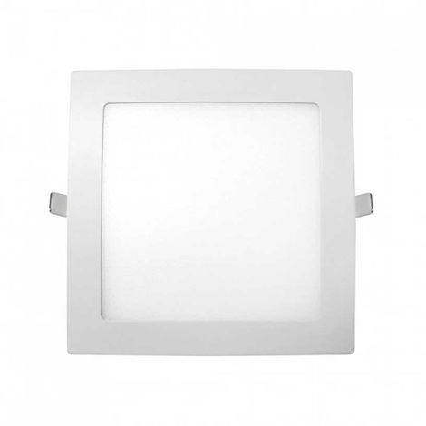 Downlight LED Ultraslim Empotrable Cuadrado 9W 720lm 13x13cm Blanco Eilen