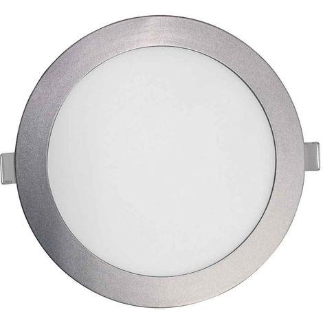 Downlight LED Ultraslim Empotrable Redondo 18W 1600lm Ø21cm 4000K Blanco