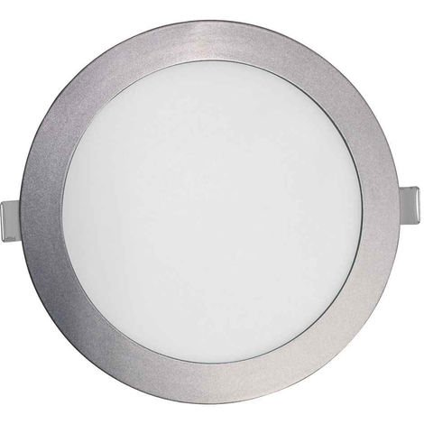 Downlight LED Ultraslim Empotrable Redondo 26W 2400lm Ø21cm 4000K Blanco