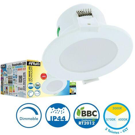 Downlight LED WAVE CCT 8W Regulable 3 Tonos