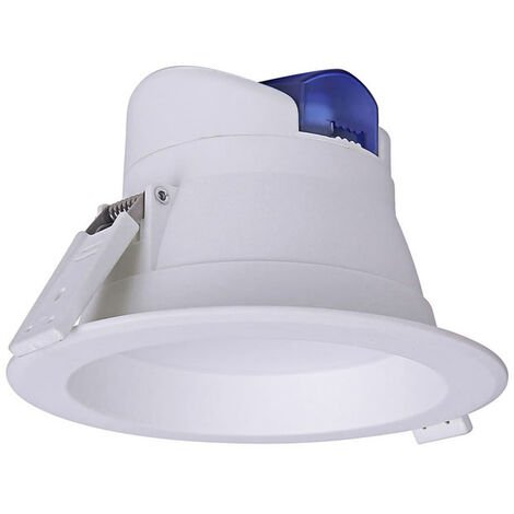 Downlight Led WOOK, 9W, TRIAC regulable, Especial para baños, Blanco frío, regulable - Blanco frío