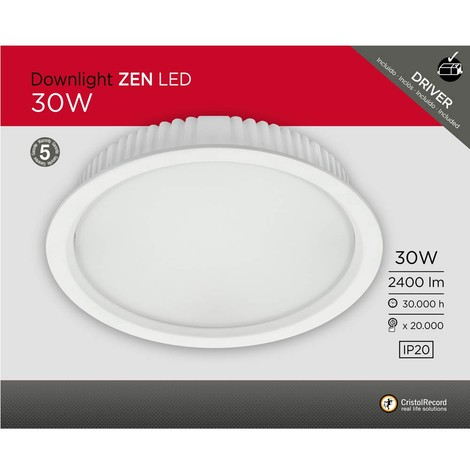 Downlight LED Zen 30W (2400 lm)