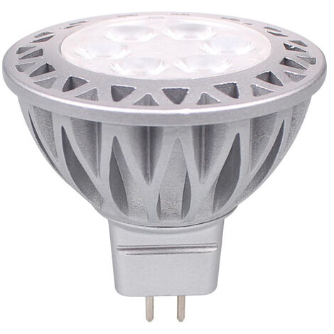 """main image of """"Downlight MR16 LED bulb GU5.3 Projector, 5W is equivalent to a 50-60W halogen lamp, RA85 600LM DC12V, 1 Pack.-"""""""