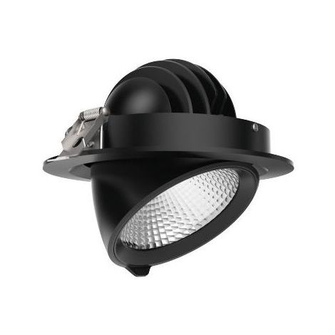 Downlight Orientable 30W Noir Access Sans Alim