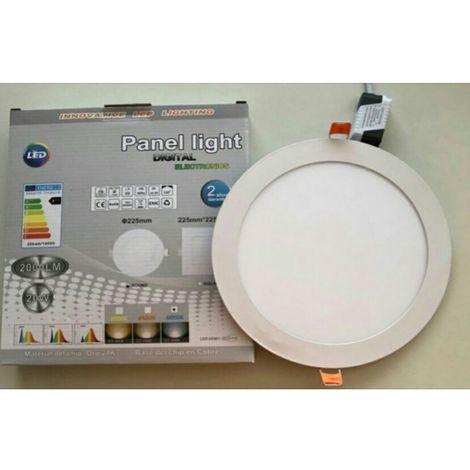 Downlight Panel LED Circular 20W 2000LM