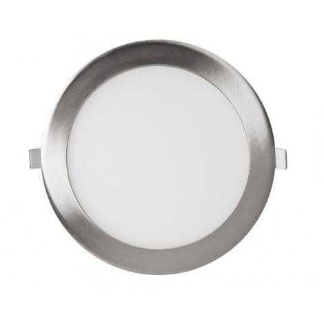 Downlight panel LED Circular Niquel 20W