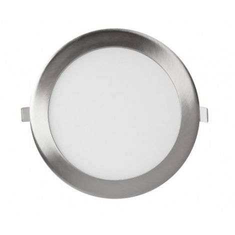 Downlight panel LED Circular Niquel 9W