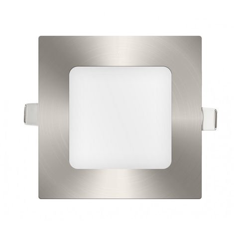 Downlight panel LED Cuadrado Niquel 6W