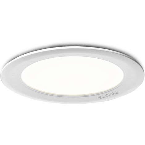 Downlight PHILIPS Marcasite Empotrable Blanco1x9W 240V