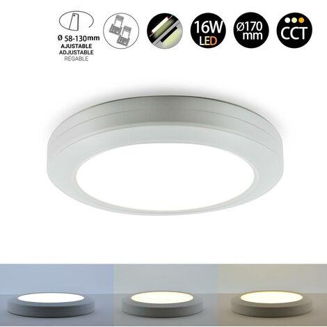 Downlight plafon LED Multifuncional CCT 16W