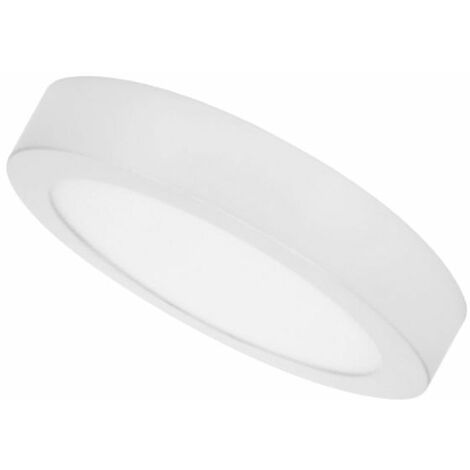 Downlight superficie Blanco 24W 3000K d.300mm Breno Prilux