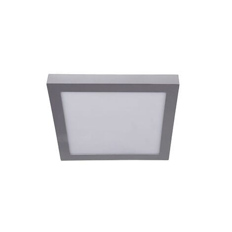 Downlight superficie cuadrado plata 6w 6000K luz blanca - 0