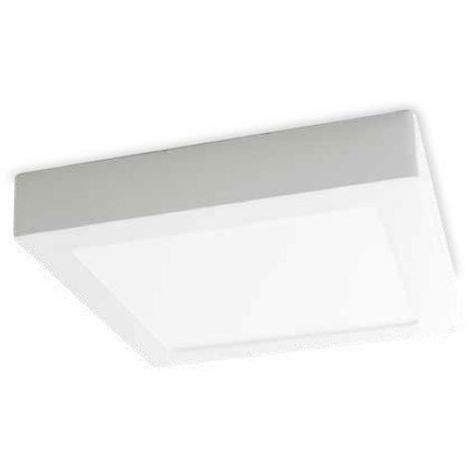 Downlight superficie cuadrado Venice 18W 6000K blanco GSC 201005016