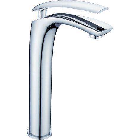 DP Griferia - Grifo monomando de lavabo alto modelo Abeto en cromo