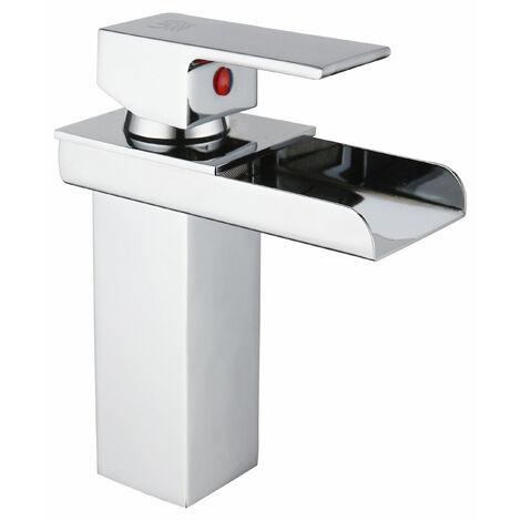 DP Grifería - Grifo monomando de lavabo efecto cascada modelo Menta