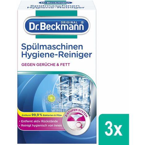 Dr. Beckmann Spülmaschinen Hygiene Reiniger 225g Reinigung Fett Rückstände Fett