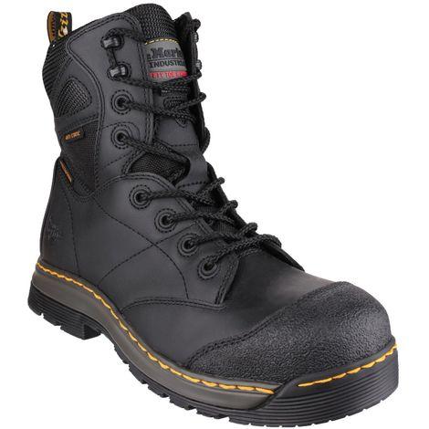 b5f67eb410d DR MARTENS Torrent S3 black DM composite safety boot with midsole size 6-13  UK