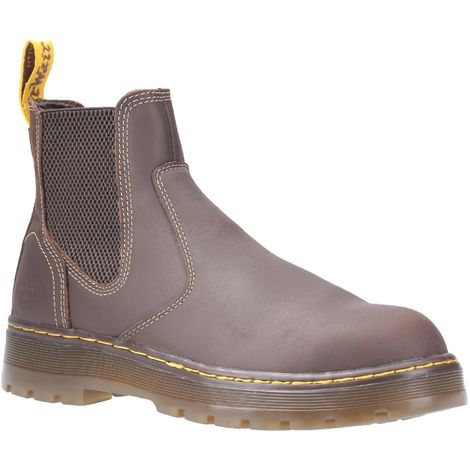 Dr Martens Unisex Adults Eaves SB Elasticated Steel Toe Cap Leather Safety Boot
