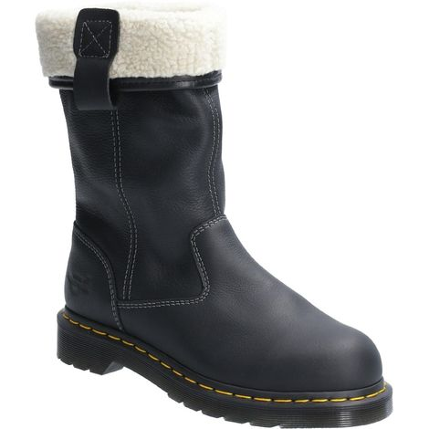 Dr Martens Womens/Ladies Leather Belsay ST Safety Boot