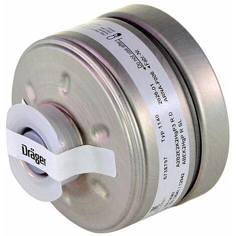 Dräger 4x X-plore Rd40 Atemschutzfilter A2B2E2K2 Hg P3 R D ( 4x 6738797 ) EN148-1 für X-plore 6000 Vollmaske