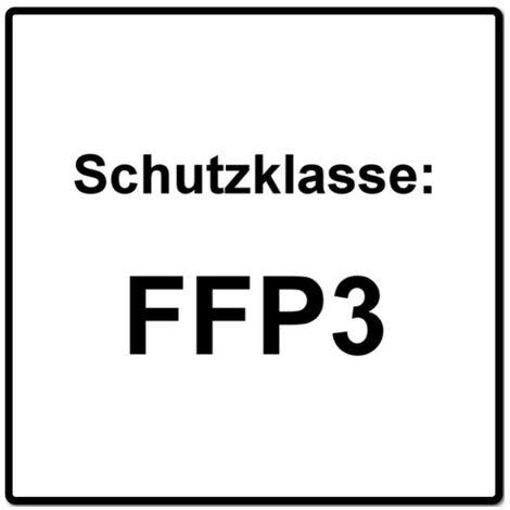 Dräger X-plore 1730 V FFP3 NR D Halbmaske 10 Stück ( 3951088 ) FFP3 Partikelfiltrierend Universalgröße mit CoolMAX Ventil Atemschutzmaske
