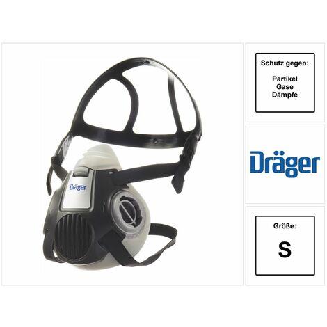 Dräger X-plore 3300 S Demi-masque de protection respiratoire pour filtre à baïonnette taille S - sans filtre