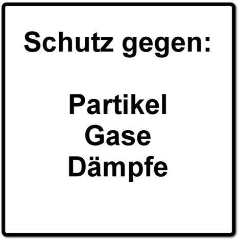 Dräger X-plore 3500 M Atemschutz Maske Halbmaske für Bajonettfilter Größe M + 2x X-plore P3 R Partikelfilter ( 6738011 )
