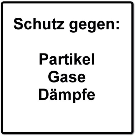 Dräger X-plore 3500 S Atemschutz Maske Halbmaske für Bajonettfilter Größe S + 2x X-plore P3 R Partikelfilter ( 6738011 )