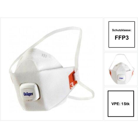 Dräger X-plore®1930 FFP3 Mundschutz Atemschutz mit Ventil Gr. M/L EN 149:2001 + A1:2009
