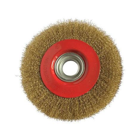 290 mm KS Tools Acier Inoxydable handdrahtbürste 4-Reihig