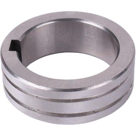 Drahtführungsrolle TYP V 30 x 22 x 10 für Stahldraht 0,8 + 1,0 mm für WELDINGER 2 - und 4 - Rollenantrieb